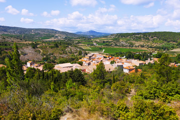 old small town. Portel-des-Corbieres
