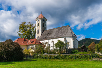 Parish church in Obermühlbach