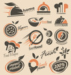Food and restaurants logo design inspirations - 71290856