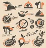 Food and restaurants logo design inspirations