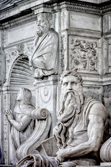 Moses statue
