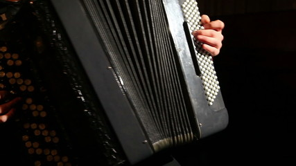 man plays the accordion 2