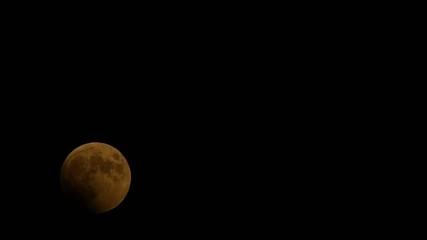 皆既月食の軌道_6倍再生_2014年10月08日_北海道