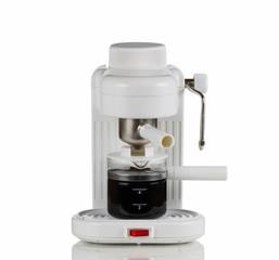 Cappuccino Maker on White