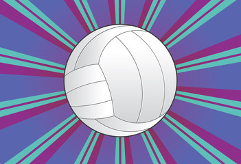 Volleyball Ball Background