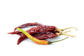 dry chili peppers