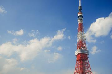 冬空の東京タワー