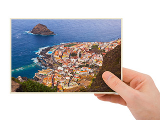 Tenerife Canary photography in hand