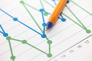 Business Graph (Line Graph)