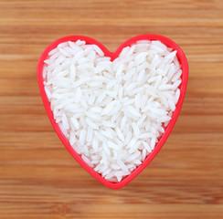 I love white rice