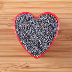 I love poppy seeds
