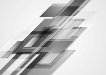 Grey hi-tech vector motion design