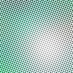 green halftone pattern