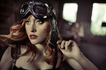 Portrait of the fabulous airwoman