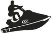 Jet-ski Picto vecteurs - 71304888