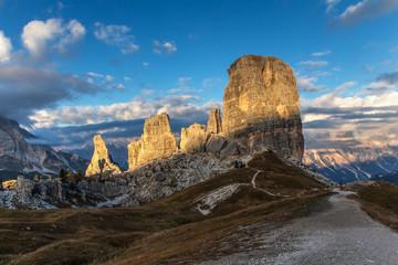 """Mountain """"Dolomiti-Cinque Torri"""""""