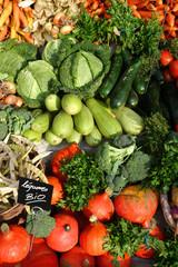 Légumes BIO du marché