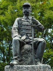谷干城銅像