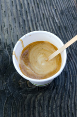 caffè in una torrefazione a Granville a Vancouver