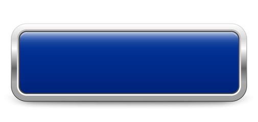 Long rectangular template - dark blue metallic button