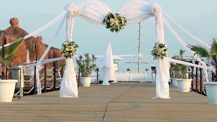 Wedding Ceremony Arch Decoration