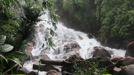 Waterfall in KHAO KHITCHAKUT NATIONAL PARK,Thailand