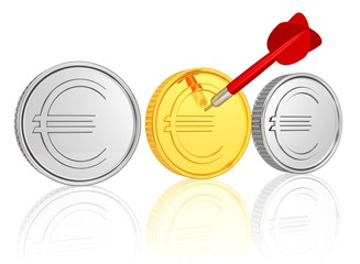 Erfolg - bevorzugte Anlageform - Gold