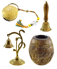 Set with Indian interior objects 2