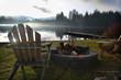 Chair at Alice Lake