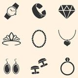 Vector Set of Jewellery Icons