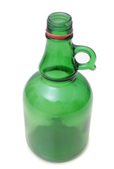 Green bottle glass