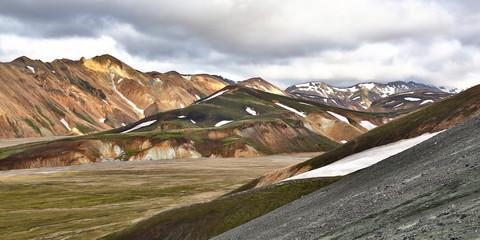 mountains of Landmannalaugar, iceland