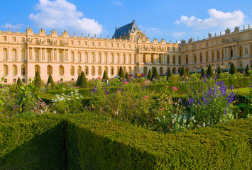 Château de Versailles, jardins en été