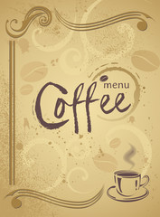 Trendy restaurant menu background to any creative modern design