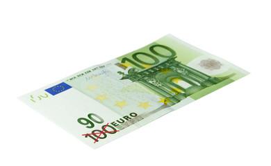 100 oder doch nur 90 Euro?