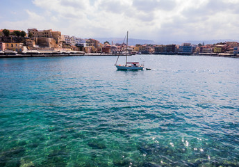 Hafen in Chania