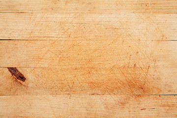 Table kitchen, Wood background.