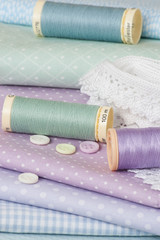 Sewing Craft Kit. Tailoring Hobby Accessories