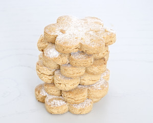 Freshly baked sugar cookies