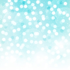 Blue bokeh background for Your design