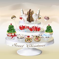 Sweet Christmas_cupcake_cakepops
