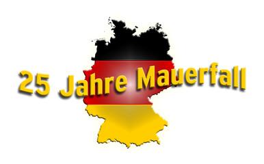 25 Jahre Mauerfall Deutschland