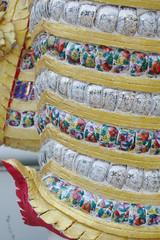 ceramic cups decoration detail