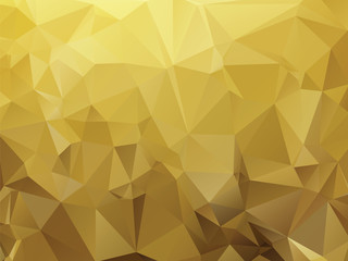 ocher abstract background composition of triangles