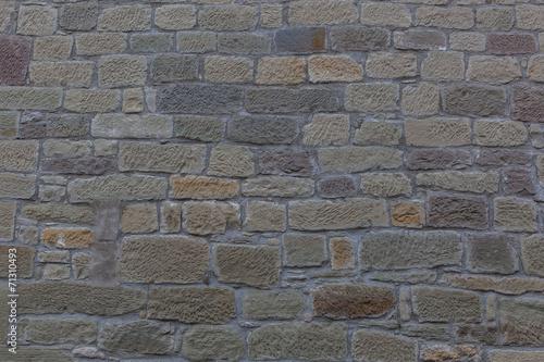 canvas print picture Textur Natursteinmauer