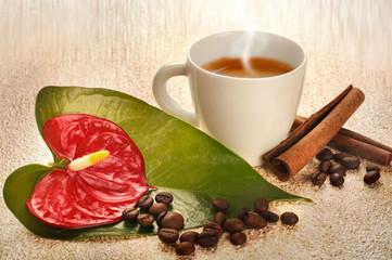 Caffè con cannella