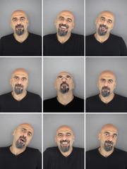 Portraits collage