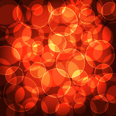 Abstract Circle bokeh