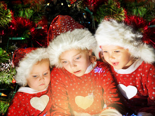 Funny christmas kids
