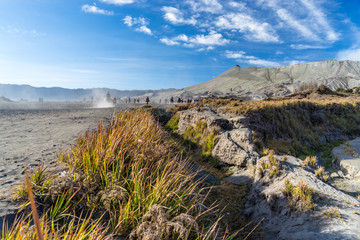 Way to Bromo crater